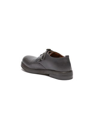 - MARSÈLL -  ''Zucca Zeppa' Round Toe Leather Derby Shoes
