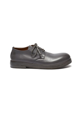 Main View - Click To Enlarge - MARSÈLL -  ''Zucca Zeppa' Round Toe Leather Derby Shoes