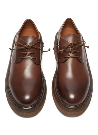 Detail View - Click To Enlarge - MARSÈLL - Zuccone' Platform Sole Leather Derby Shoes