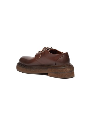 - MARSÈLL - Zuccone' Platform Sole Leather Derby Shoes