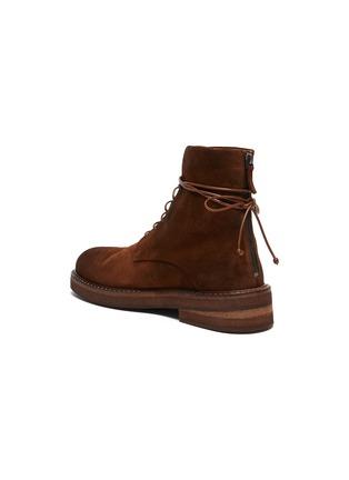 - MARSÈLL - Parrucca' Suede Combat Boots