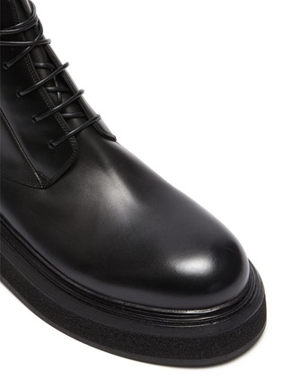 Detail View - Click To Enlarge - MARSÈLL - Zuccone' Leather Combat Boots