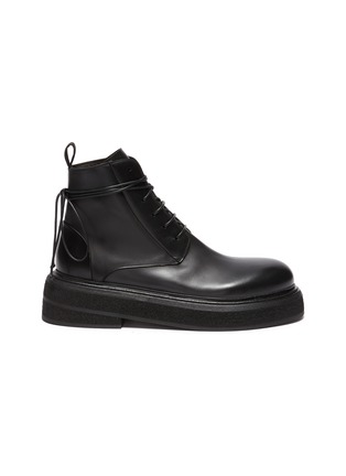 Main View - Click To Enlarge - MARSÈLL - Zuccone' Leather Combat Boots