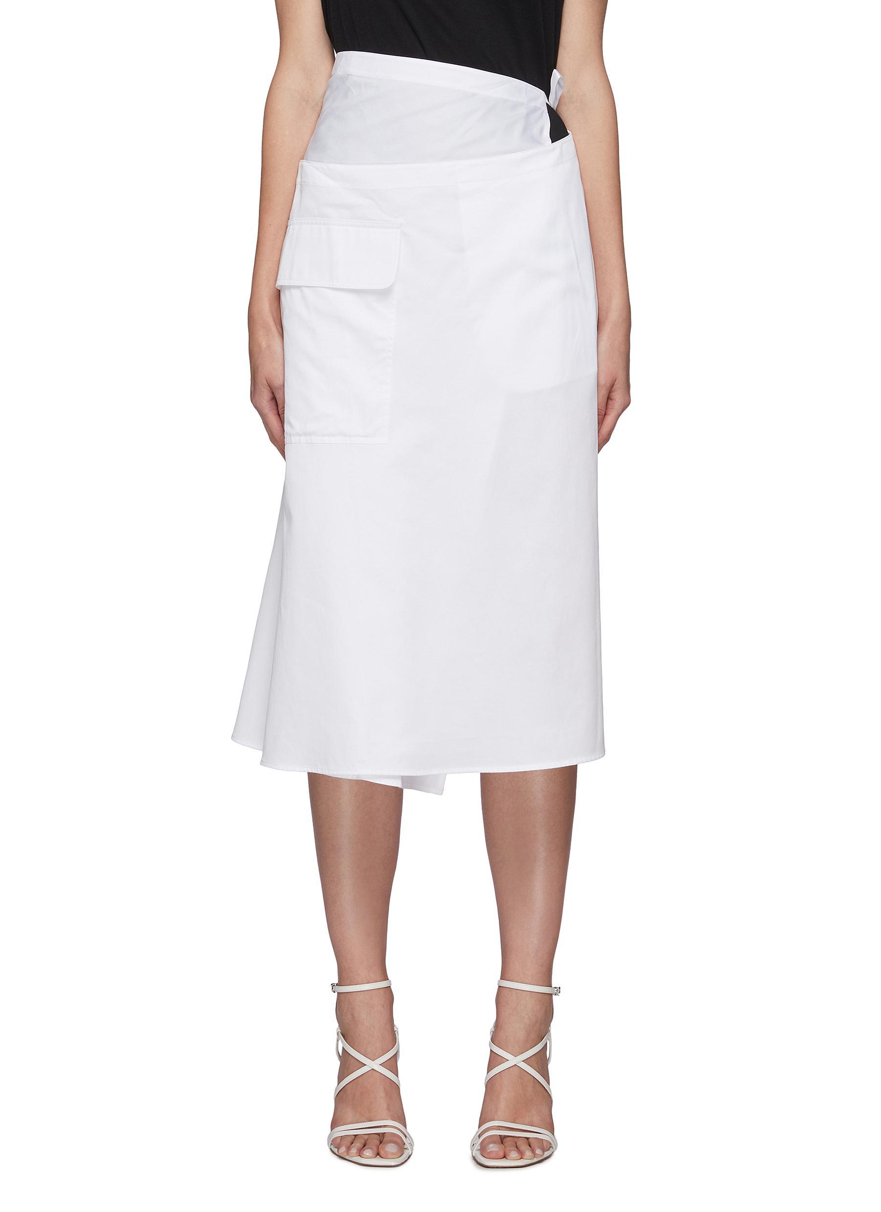 The Leisuresuit Wrap Skirt - TIBI - Modalova