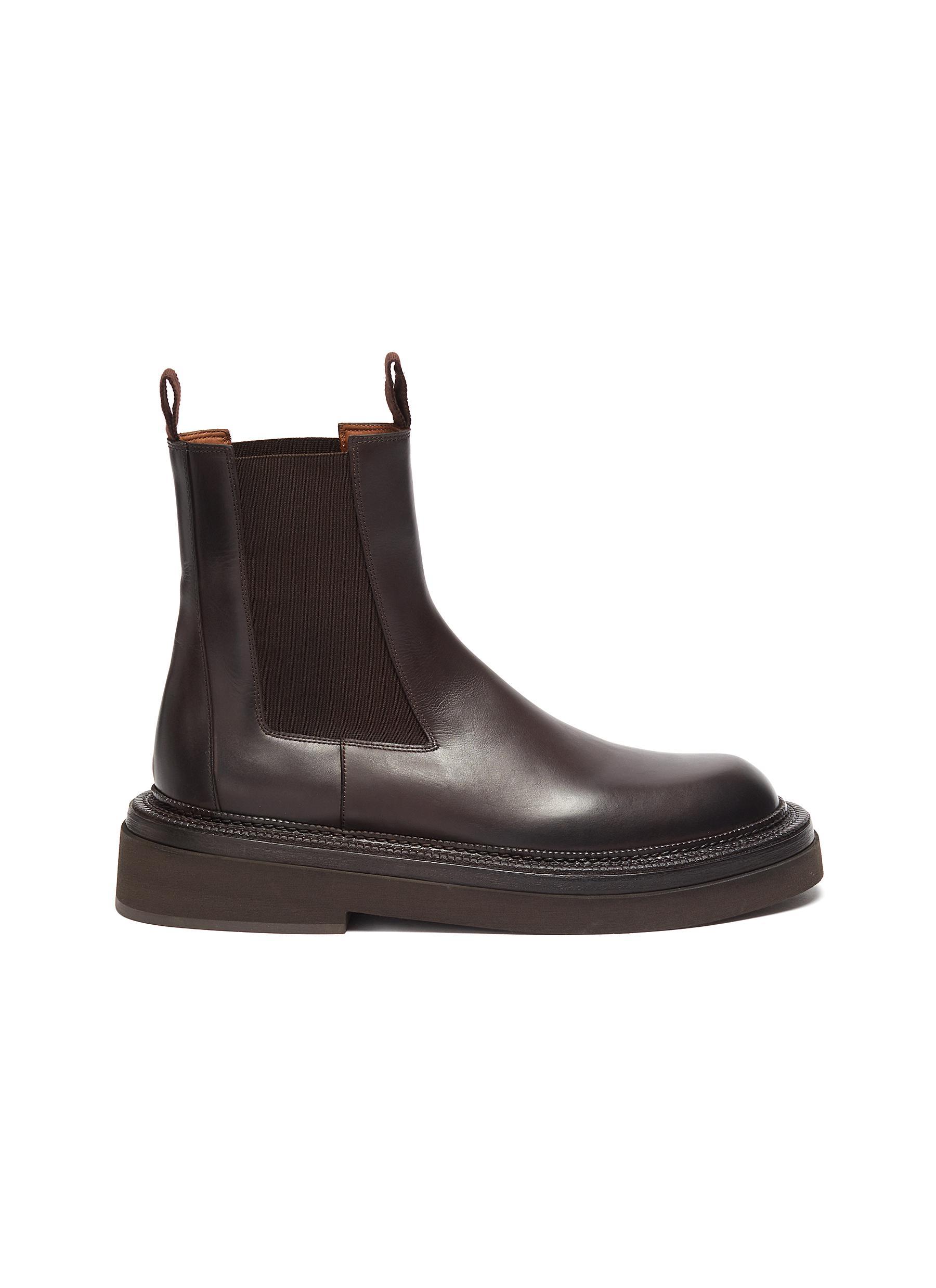 Pollicione Leather Chelsea Boot - MARSÈLL - Modalova