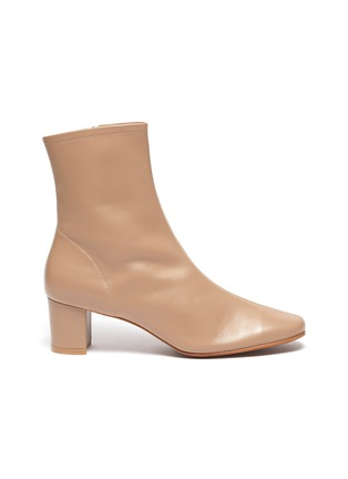 Main View - Click To Enlarge - BY FAR - 'SOFIA' LEATHER ANKLE BOOTS