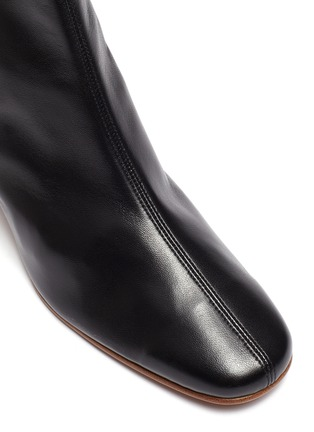 Detail View - Click To Enlarge - BY FAR - 'SOFIA' LEATHER ANKLE BOOTS