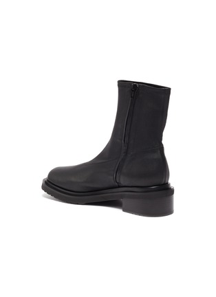 - BY FAR - Kah' chunky sole square toe chelsea boots