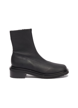 Main View - Click To Enlarge - BY FAR - Kah' chunky sole square toe chelsea boots