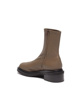 - BY FAR - 'Kah' chunky sole square toe chelsea boots
