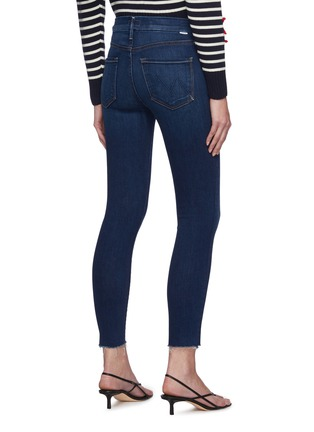 Back View - Click To Enlarge - MOTHER - 'The Looker' ankle fray skinny jeans