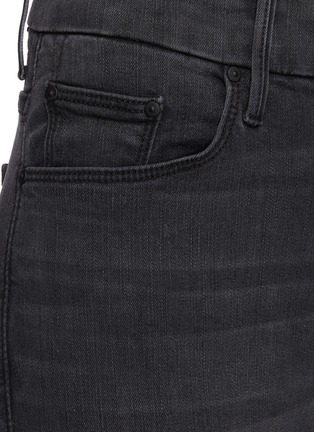 - MOTHER - 'The Looker' ankle fray skinny jeans