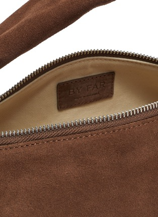 Detail View - Click To Enlarge - BY FAR - Slouchy Hobo' Top Handle Suede Shoulder Bag
