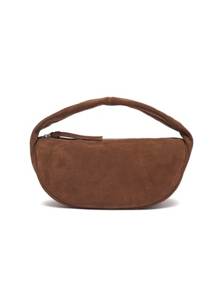 Main View - Click To Enlarge - BY FAR - Slouchy Hobo' Top Handle Suede Shoulder Bag