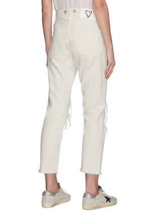Back View - Click To Enlarge - RAG & BONE/JEAN - 'Maya' distressed knee jeans