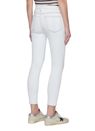 Back View - Click To Enlarge - RAG & BONE/JEAN - Cate' light wash ankle skinny jeans
