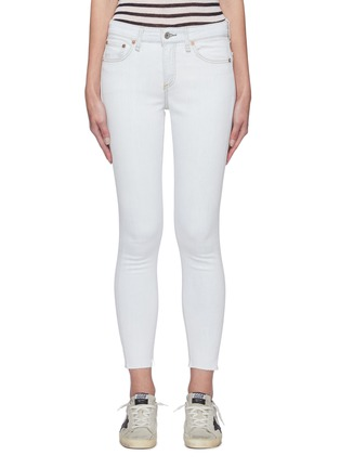 Main View - Click To Enlarge - RAG & BONE/JEAN - Cate' light wash ankle skinny jeans