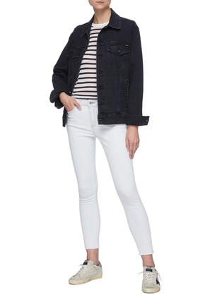 Figure View - Click To Enlarge - RAG & BONE/JEAN - Cate' light wash ankle skinny jeans