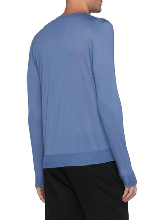 Back View - Click To Enlarge - PRADA - Solid Cashmere Sweater