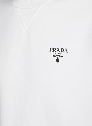 - PRADA - Oversized Chest Logo Sweatshirt