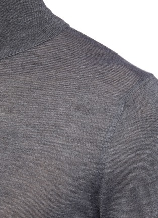 - PRADA - Cashmere turtleneck shirt