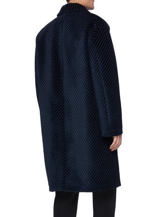 Back View - Click To Enlarge - PRADA - Corduroy coat