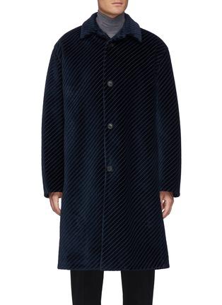 Main View - Click To Enlarge - PRADA - Corduroy coat
