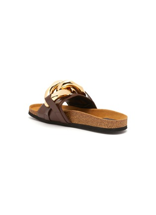 - JW ANDERSON - Chunky chain leather slides