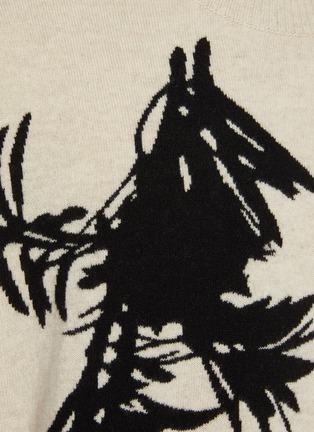 - ZIGGY CHEN - Podocarpus Motif Sweater