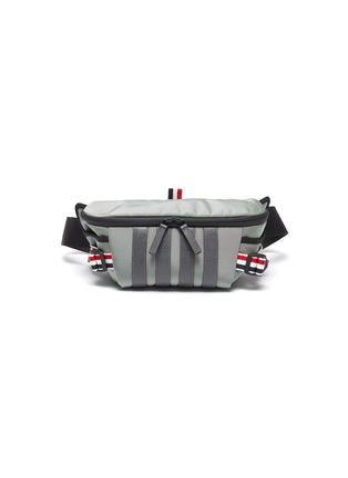 Main View - Click To Enlarge - THOM BROWNE - Four Bar Stripe Bum Bag