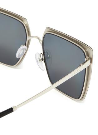 Detail View - Click To Enlarge - PRADA - 'Cinéma Evolution' Acetate Square Frame Sunglasses