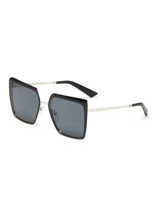 Main View - Click To Enlarge - PRADA - 'Cinéma Evolution' Acetate Square Frame Sunglasses