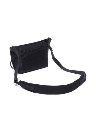 Detail View - Click To Enlarge - ACNE STUDIOS - Face Plaque Nylon Mini Messenger Bag