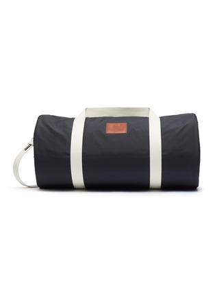 Main View - Click To Enlarge - ACNE STUDIOS - Face Leather Patch Nylon Weekender Bag