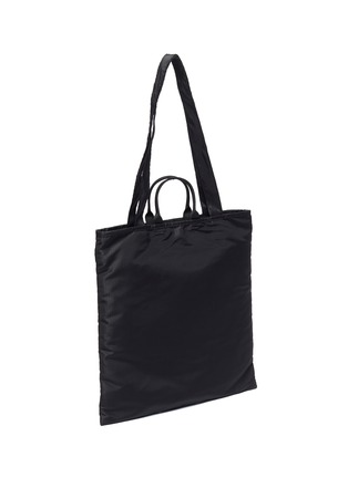 Detail View - Click To Enlarge - ACNE STUDIOS - Face Plaque Nylon Tote