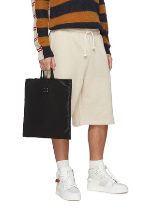 Figure View - Click To Enlarge - ACNE STUDIOS - Face Plaque Nylon Tote