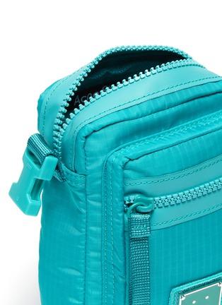 Detail View - Click To Enlarge - ACNE STUDIOS - Face Plaque Nylon mini crossbody bag