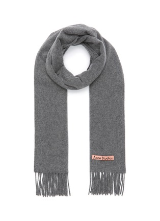 Main View - Click To Enlarge - ACNE STUDIOS - FRINGED WOOL SCARF
