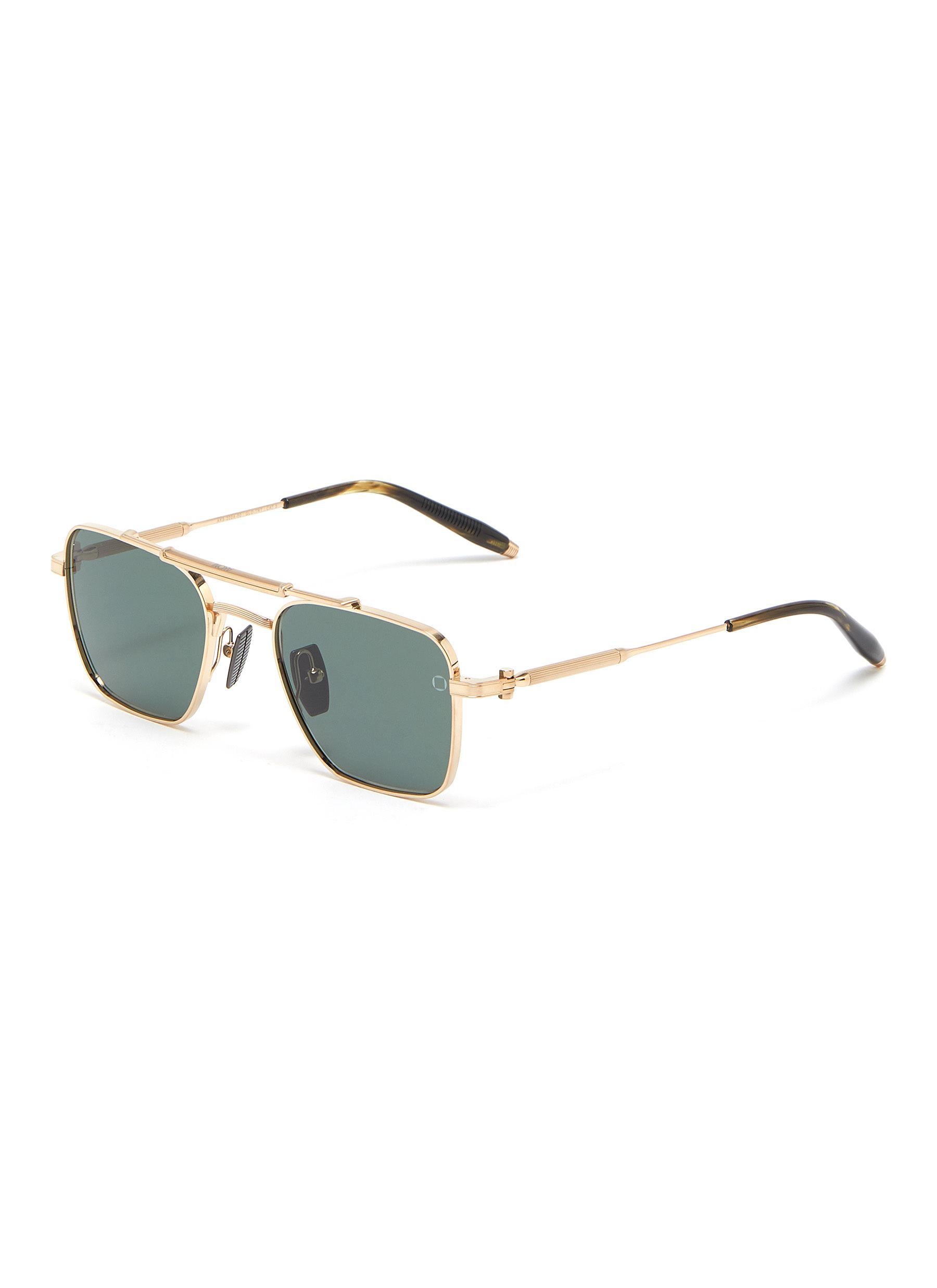 'Europa' square aviator sunglasses