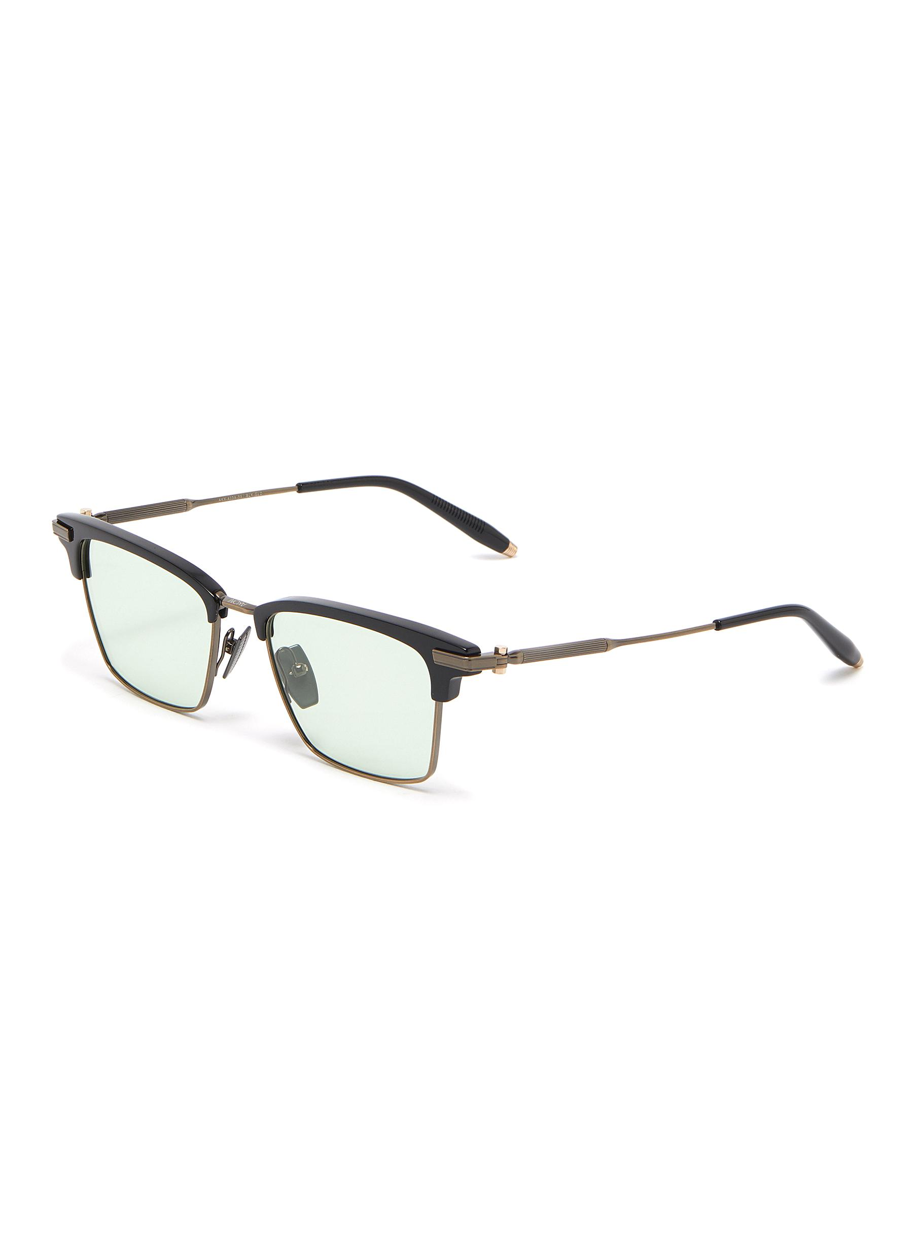 'Galileo' acetate browline optical glasses