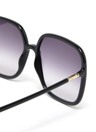 Detail View - Click To Enlarge - DIOR - DiorSoStellaire Square Frame Sunglasses