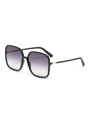 Main View - Click To Enlarge - DIOR - DiorSoStellaire Square Frame Sunglasses