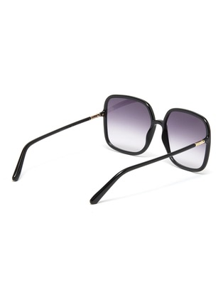 Figure View - Click To Enlarge - DIOR - DiorSoStellaire Square Frame Sunglasses