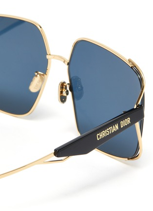 Detail View - Click To Enlarge - DIOR - ArchiDior Angular Frame Sunglasses