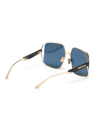 Figure View - Click To Enlarge - DIOR - ArchiDior Angular Frame Sunglasses