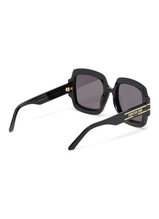 Figure View - Click To Enlarge - DIOR - DiorSignature Oversized Square Frame Sunglasses
