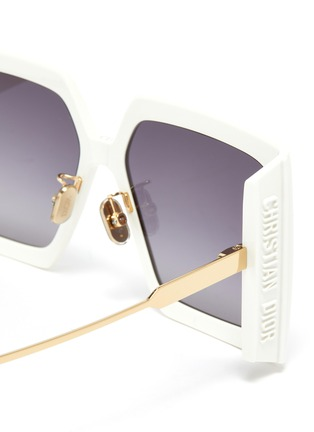 Detail View - Click To Enlarge - DIOR - Dior Solar Oversized Square Frame Sunglasses