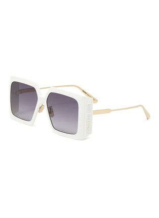 Main View - Click To Enlarge - DIOR - Dior Solar Oversized Square Frame Sunglasses