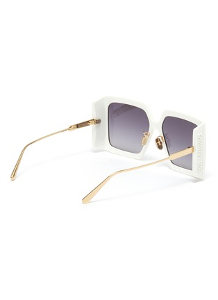 Figure View - Click To Enlarge - DIOR - Dior Solar Oversized Square Frame Sunglasses
