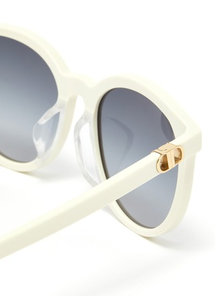 Detail View - Click To Enlarge - DIOR - 30Montaigne Mini Rounded Frame Sunglasses